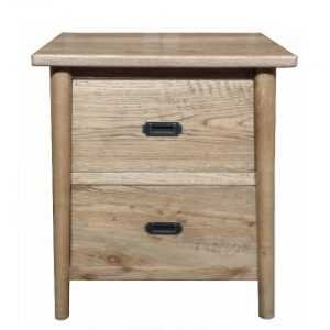 MF Tiffany 2-Drawer Bedside Table