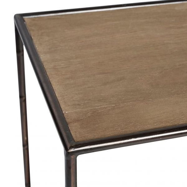 SH MANHATTAN SIDE TABLE WALNUT