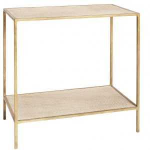 SH MANHATTAN SIDE TABLE GOLD