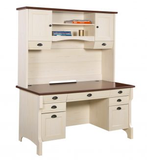 HL Nepean Desk And Hutch
