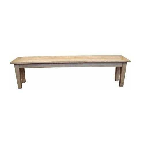 MF Oak 122cm Bench