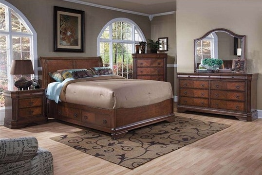 MO Sheridan Solid American Popular TImber King Bed