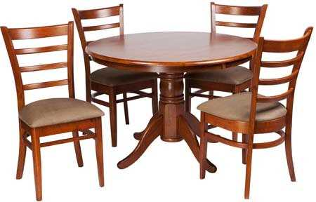 MA Jaguar Dining Set 5 Piece Fixed