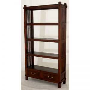 CT 2 Dawer Diamond Open Bookcase