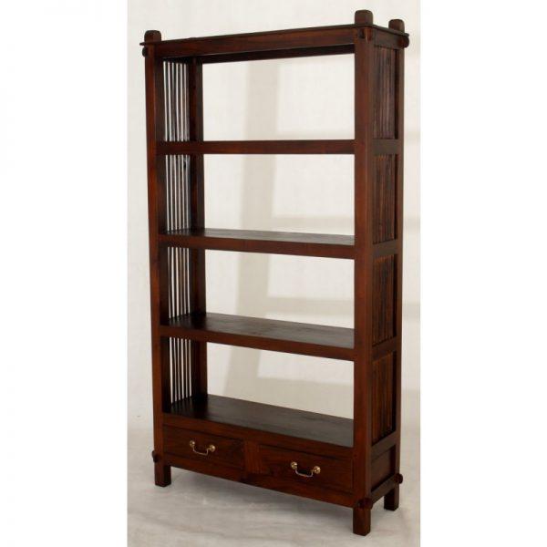 CT 2 Dawer Diamond Open Bookcase