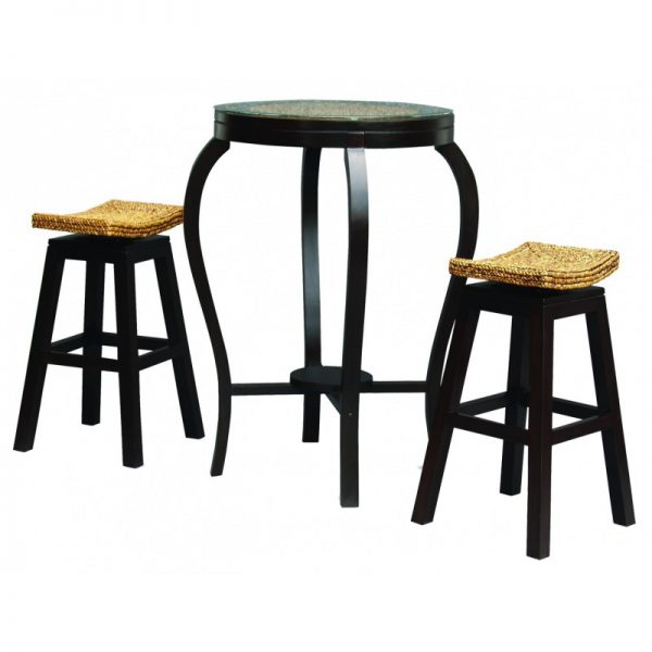 CT Ornament Bar Table and Stools Set