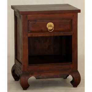 CT 1 Drawer Shanghai Bedside (Ring