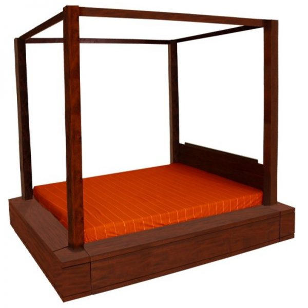 CT Amsterdam 4 Poster Bed Queen Size