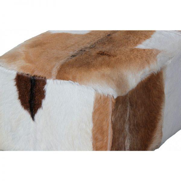 CT Ryno Goat Leather Stool Large