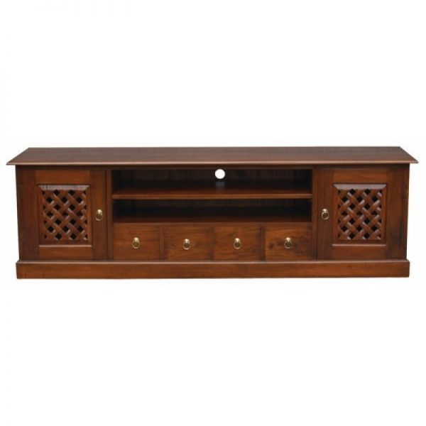CT York 2 Door 4 DVD Drawer Entertainment Unit