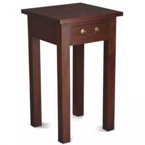 CT 1 Drawer Straight Leg Sofa Table