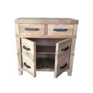 MF Recycled Elm 2-Drw 2-Dr Cabinet