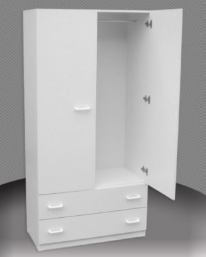 AU 2 Drawer Childs Wardrobe