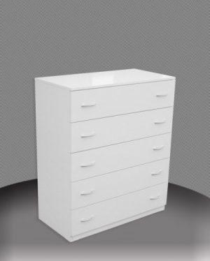 AU 90CM 5 drawers Chest