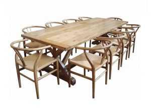 MF Bordeaux Oak Table - 280cm