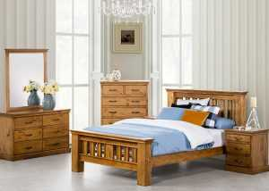 GL Kipling 4pcs Bedroom Suite