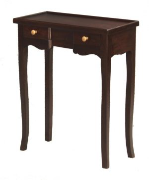 CT 2 Drawer Console Chocolate