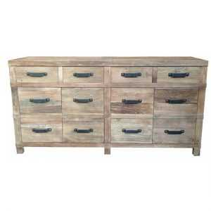 MF Recycled Elm 4-Drw 4-Dr Buffet s