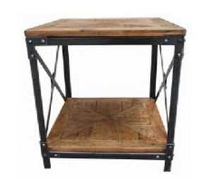 MF Wrought Iron Side Table