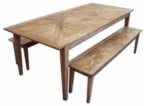 MF Parquetry 220cm Table