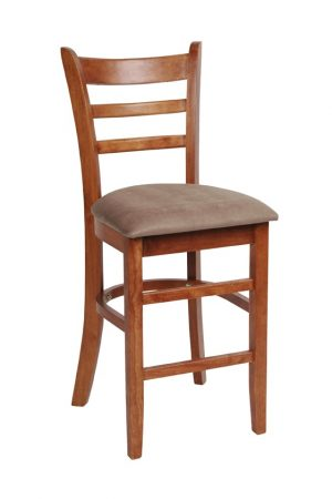 MA Jaguar Bar Stool With Upholstered Seat