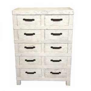 MF Industrial Iron 10-Drawer Chest