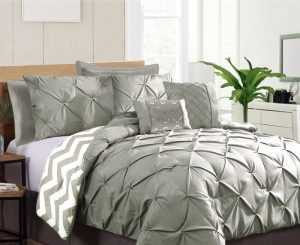 KT Pinch Pleat Comforter Set