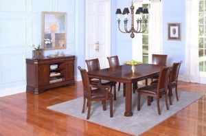 MO Sheridan Solid American Rectangular Dining Table