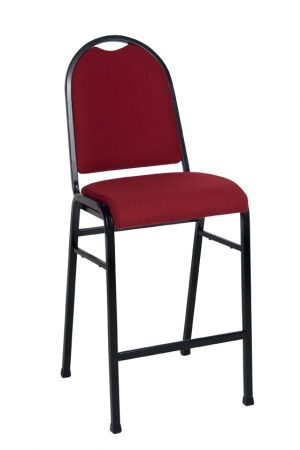 MA Bistro Bar Stool 4 Leg with Back