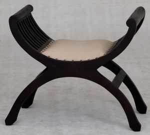 CT Upholstered 1 Seater Stool