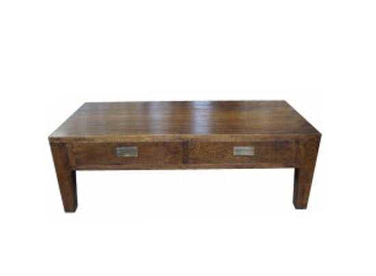 MF 2 Drawer 2-way Oak Coffee Table