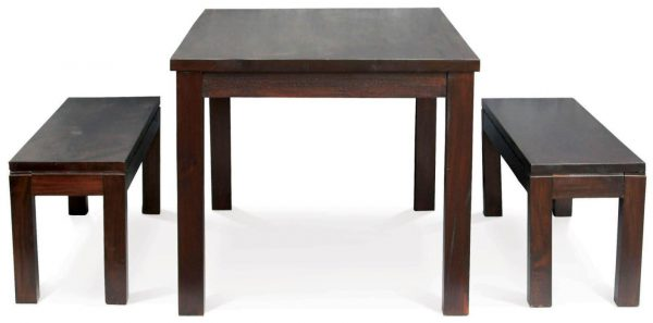 CT Dining Table and 2 Benches