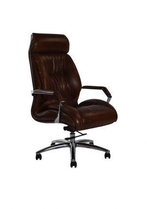 AF GM Desk Leather Armchair