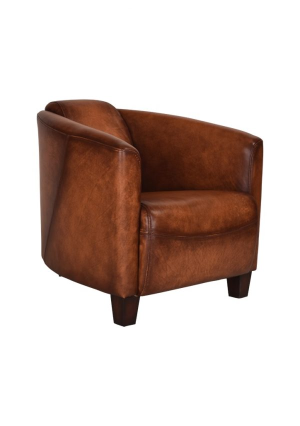 AF Vanguard Carter Leather Armchair