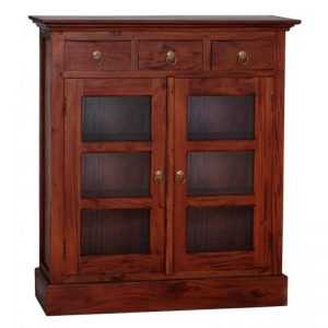 CT 3 Drawer Small Display Cabinet