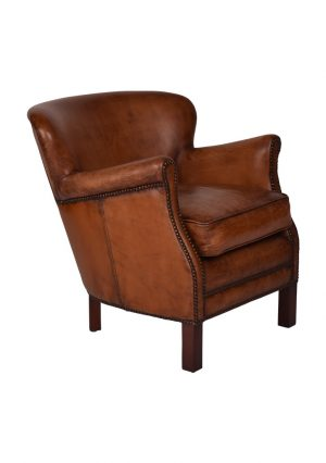 AF Pembroke Leather Armchair
