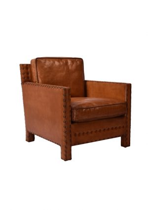 AF Ruben Leather Armchair