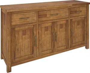 VI Tuscan Mountain Ash Buffet 3 Drawers 4 Doors