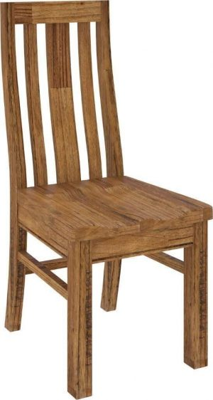 VI Tuscan Mountain Ash Dining Chair Timber Seat