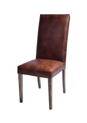 AF LLoyd Leather Dining Chair