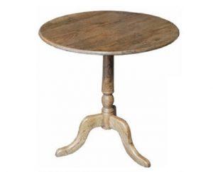 MF Oak 120cm Round Table