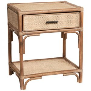 Sassionhome Peninsula Side Table