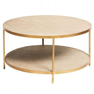 Sassionhome Manhattan Round Coffee Table