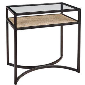 SH Manhattan Glass Side Table
