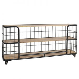 Sassionhome Mayfair Bakers Rack Console