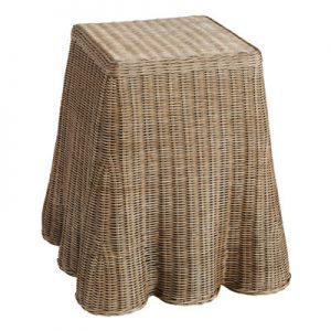 SH Willow Rattan Side Table