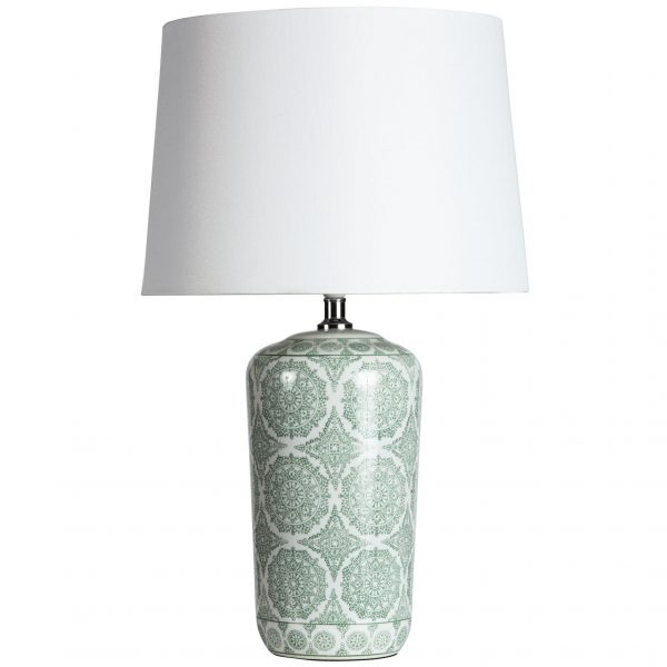 SH Barclay Seafoam Lamp