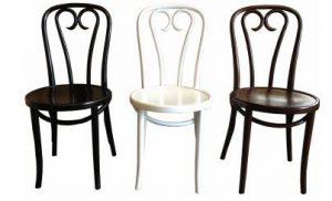 MF Bentwood Heart Chair