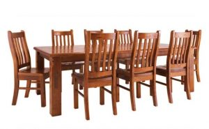 MD Windsor Dining Chair - Rough Sawn