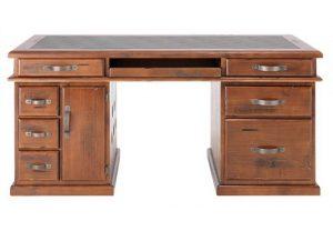 MD Windsor Desk - Rough Sawn